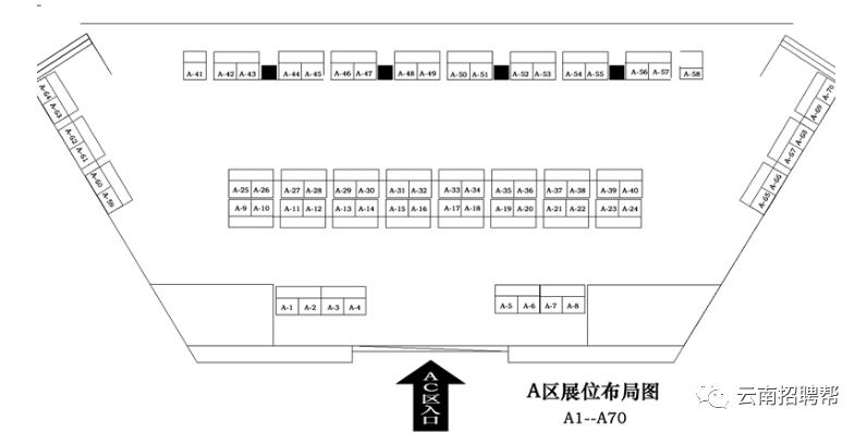 【招聘会】3月31日 周三 云南城西人才市场职业洽谈会 邀请函 招聘会 第4张